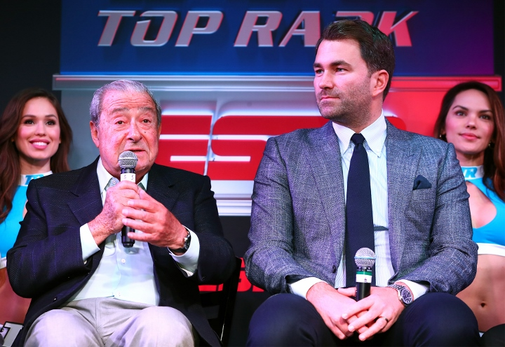 Arum on Fury-Joshua: Fight is 'Dead in The Water' For July, August - Boxing  News