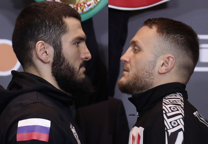 Photos: Artur Beterbiev, Adam Deines - Face To Face in Moscow - Boxing News