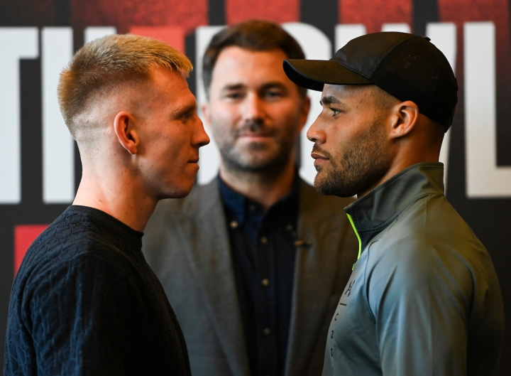 Ted Cheeseman Sees Troy Williamson as Final Hurdle at British Level -  Boxing News
