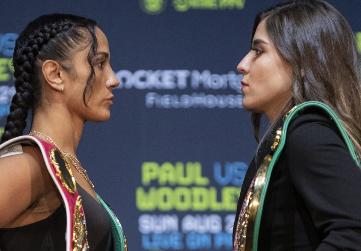 Amanda Serrano vs Yamileth Mercado